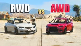 GTA V - Do All Wheel Drive Cars Help You?