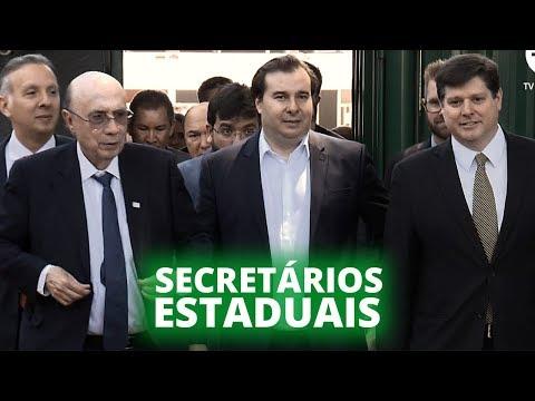 Secretários estaduais de Fazenda apresentam sugestões para reforma tributária - 11/09/19