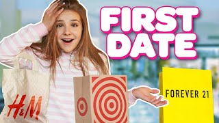 MY FIRST DATE Shopping Challenge (KID vs TEEN) ft. Annie Rose | Piper Rockelle