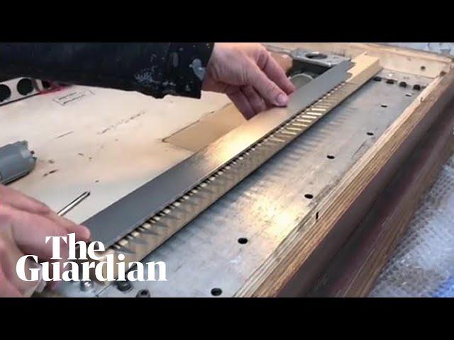 Видео от Бэнкси показывает скрытый шредер в его картине