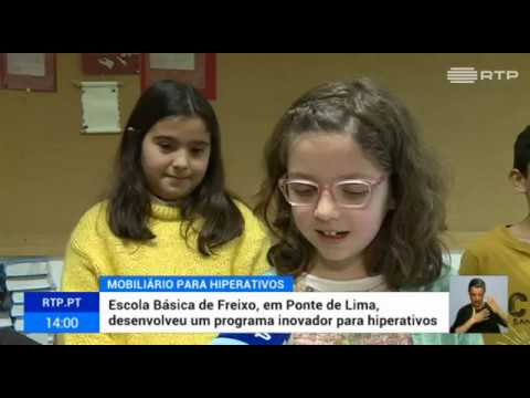 Escola Básica de Freixo desenvolveu um programa inovador para hiperativos