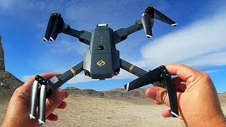 Fanstech X Pack 1 Folding FPV RC Quadcopter Drone Flight Test Review