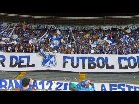 """""""BLUE RAIN-AMO Y SEÑOR DEL FUTBOL COLOMBIANO °°/M"""" Barra: Blue Rain • Club: Millonarios"""