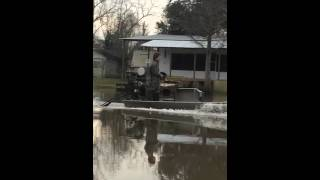 Crawfishing in the swamp (headed out)