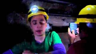 Sheldon sings 'Dark as a dungeon'