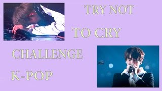 HEARTBREAKING MOMENTS  K-POP/TRY NOT TO CRY