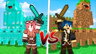 Minecraft ITA - ESERCITO DI DIAMANTE VS ESERCITO DI TERRA!