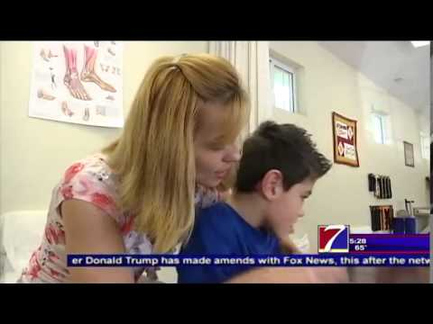 Nine Year Old Boy in Desperate Need of New Wheelchair