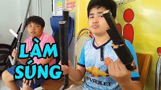 Con Nit Team Làm Súng Đạo Cụ Cho Giang Hồ Chợ Cũ Phần 2 - Mạnh Khờ