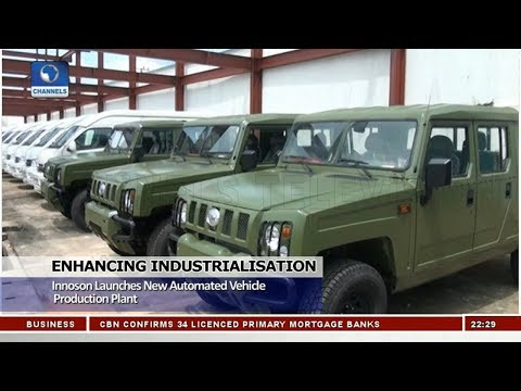 Innoson Launches New Automated Vehicle Production Plant