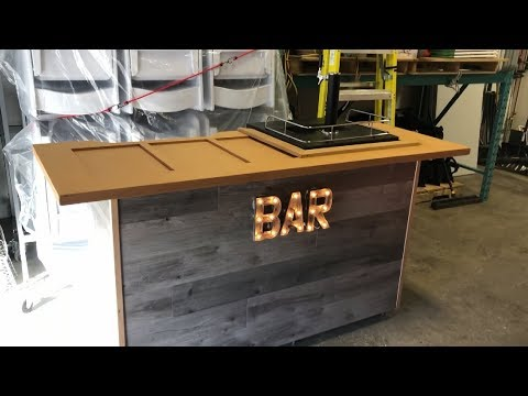 Portable Bars - For Event Rentals