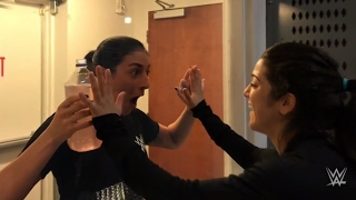 Bayley returns to the WWE Performance Center ahead of her WrestleMania debut