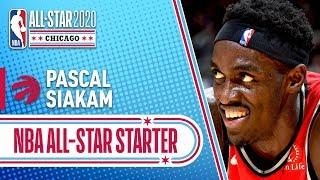 Pascal Siakam 2020 All-Star Starter   2019-20 NBA Season
