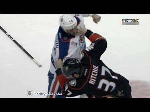 Nick Ritchie vs. Zack Kassian