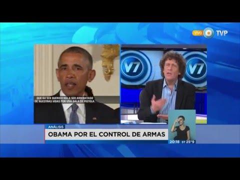 Visión 7 - Obama por el control de armas