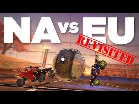 I went to Europe to play Rocket League on EU servers