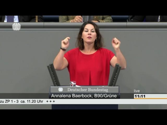 Video pronuncia di Annalena Baerbock in Tedesco