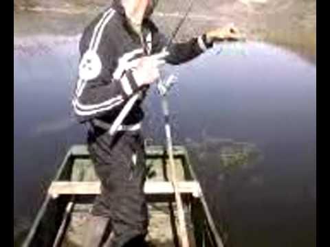 Inverno pescando sul diavolo
