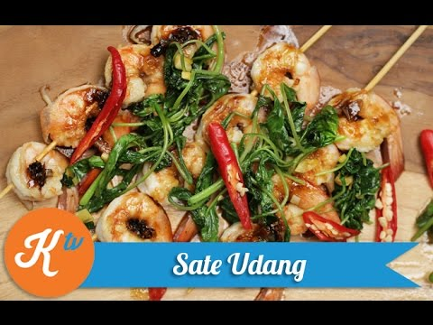 Video Resep Sate Udang (Butter Shrimp Satay Recipe Video) | REVO