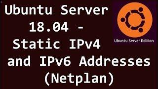 How To install Ubuntu server 18 04 LTS + Static ip + LAMP SERVER +