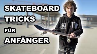 Die besten Skateboard Tricks für Anfänger :)