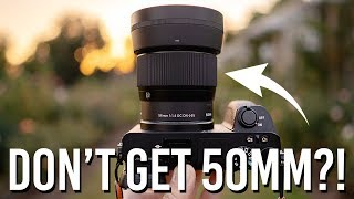 50mm - Why I Don't Recommend This Lens & How To Choose Your Next One!