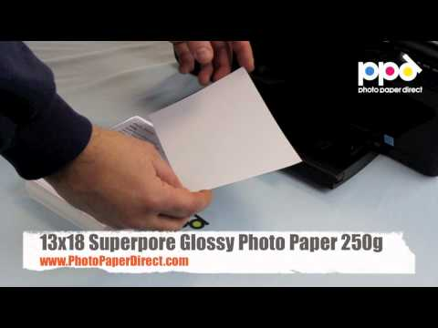 13x18 Superpore Glossy Photo Paper 250g