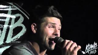 Chris Richardson 'Joy and Pain' Live in the KDWB Skyroom