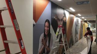 Knoxville Environmental Graphics - Scripps Interactive Networks: Los Angeles