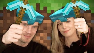 We finally play Minecraft! - Minecraft with Marzia - Part 1