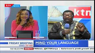 Mind Your Language:  Pronunciation- Lugubrious