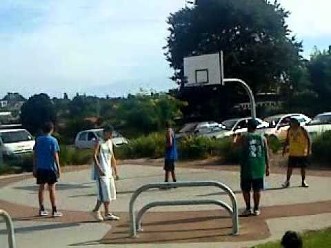 Owairaka park basketball tournament 2