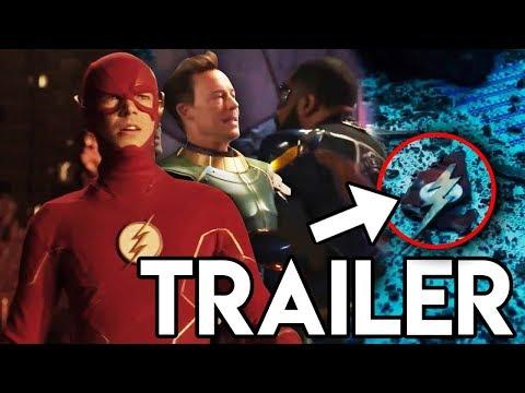 Crisis on Infinite Earths Flash Trailer - The Flash DEATH Scene & Black Lightning!