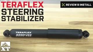 Jeep Wrangler Teraflex Steering Stabilizer (1987-2016 YJ, TJ & JK) Review & Install