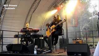 Anne Haigis on stage - 10. Dresdner Schlössernacht 2018