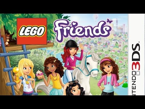 LEGO Friends Gameplay {Nintendo 3DS} {60 FPS} {1080p}