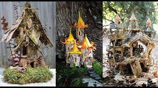 Best Fairy House Ideas 2018  || Garden Decorating Ideas || DIY & Crafts Ideas