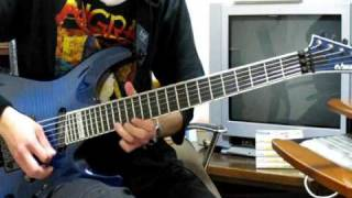 Arch Enemy「Silverwing」 (guitar cover)