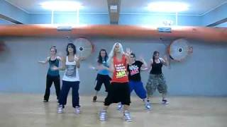 dj got us falling in love usher choreography for Mega Jam