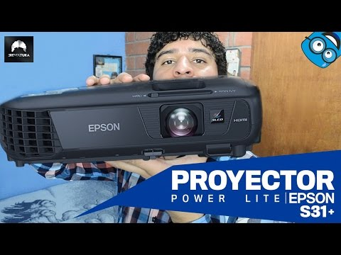 Review Proyector Epson Powerlite S31+ 3200 Lúmenes Review