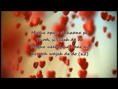 mujko barsaat bana lo full song lyrics for ankit