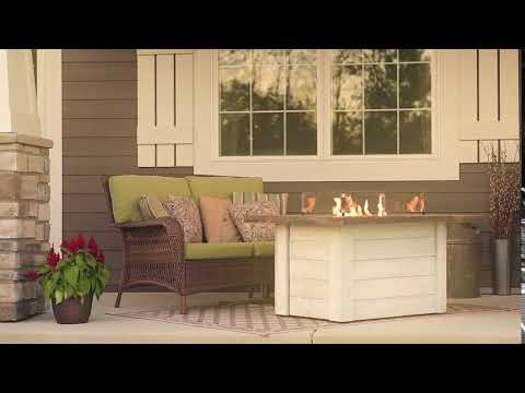 Alcott Gas Fire Pit Table by The Outdoor GreatRoom Company