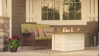 Alcott Gas Fire Pit Table - The Outdoor GreatRoom Company