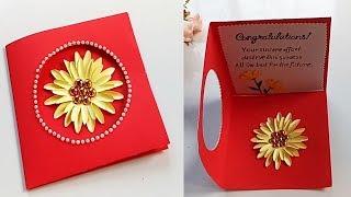 Greeting Card Making Ideas - congratulation card