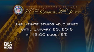 WATCH LIVE: Senate votes in attempt to restart U.S. government after shutdown