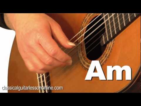 Guitar Lessons Fort Worth - Tremolo Classical Guitar Lesson
