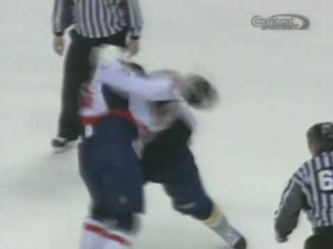 Matt Bradley vs Jordin Tootoo