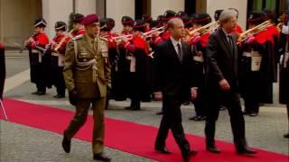 Gentiloni incontra il Primo Ministro di Malta - L