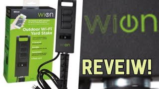 Woods WiOn Wi-Fi Outdoor Ground Stake Review!
