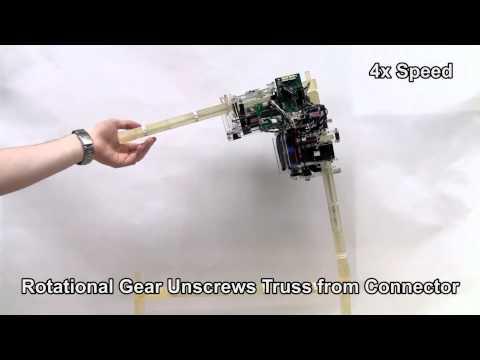 Autonomous Robotic Truss Reconfiguration and Manipulation